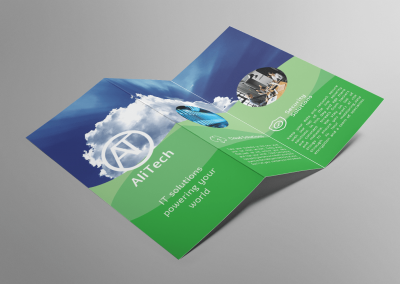 AliTech IT promotional brochure